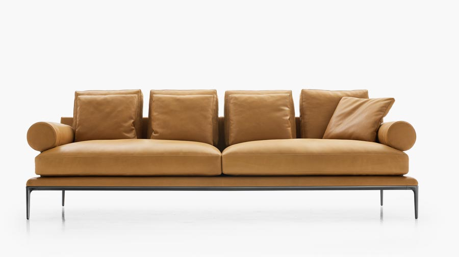 Atoll by B&B Italia, the sofa that meets the new rules for elegance