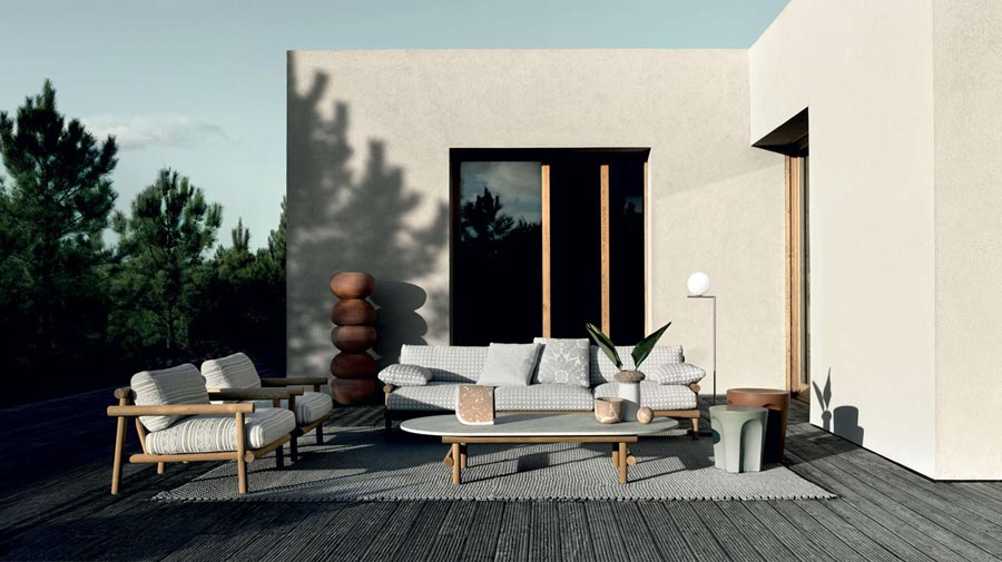 Ayana by B&B Italia, the new outdoor series between East and West