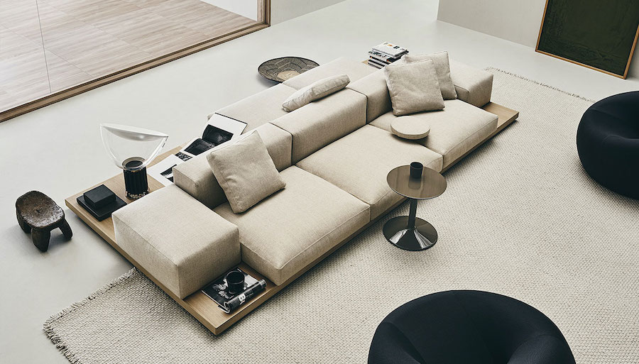 Dock sofas, the super-modular seating system
