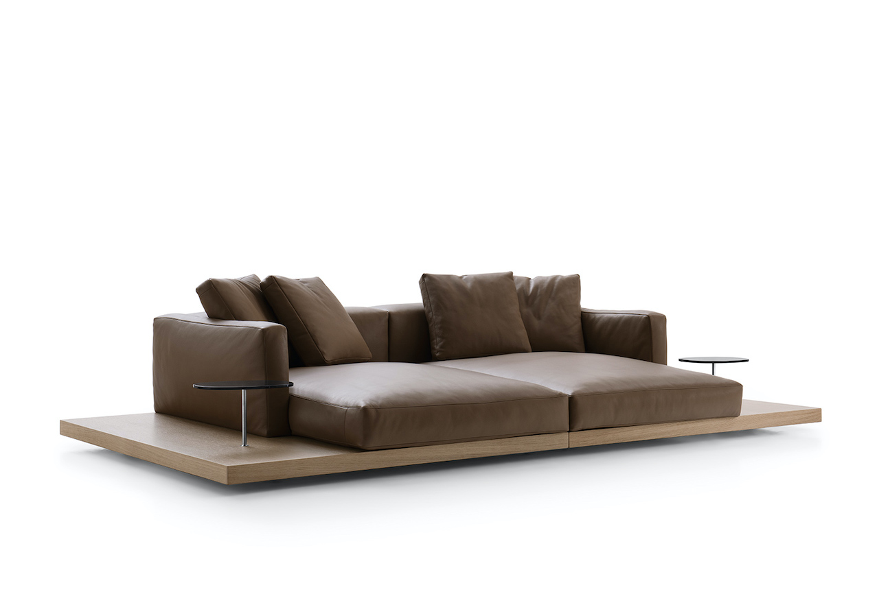 Dock modular seating system, design Piero Lissoni 2019, B&B Italia