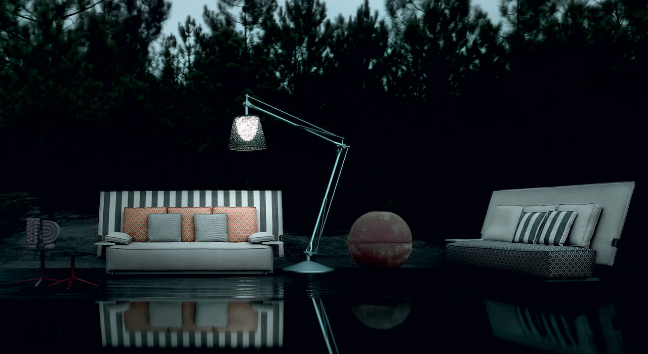 Sofa Oh, it rains! - design Philippe Starck 2020, B&B Italia