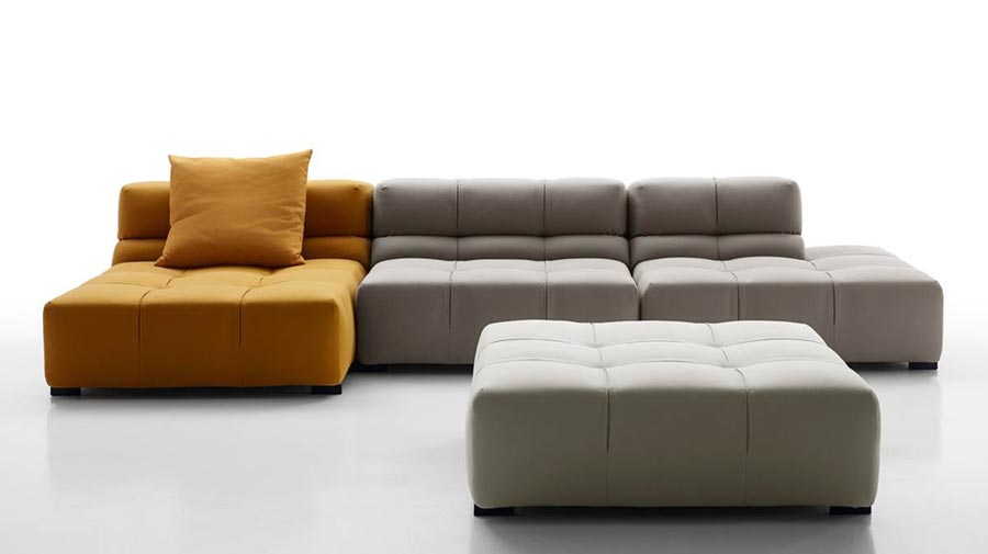 Tufty Time by B&B Italia: this cult sofa is ten years old!