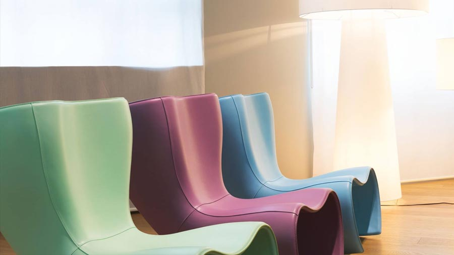 25 candles for Felt Chair by Cappellini