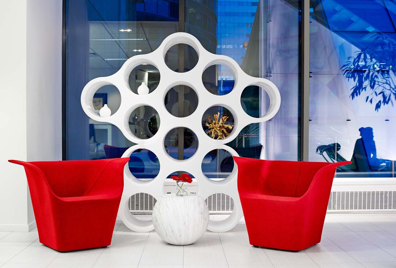 Cloud bookcase, design Erwan and Ronan Bouroullec, Cappellini 2004.