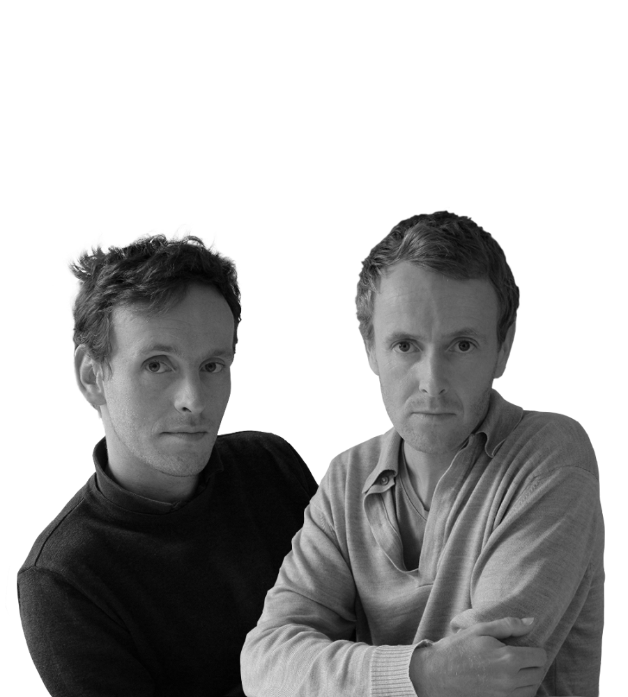 Erwan and Ronan Bouroullec, designers of Cloud and Wooden Cloudbookcases.