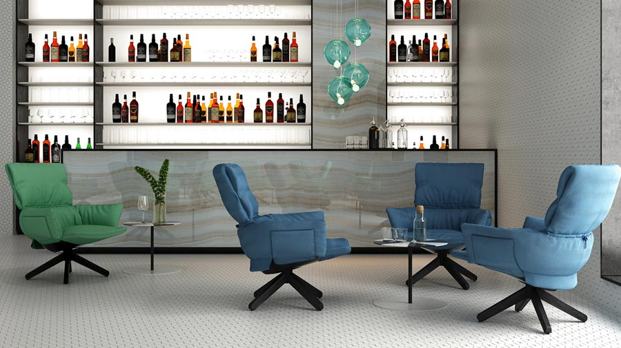 Lud'o Lounge by Cappellini, relaxation you can wear