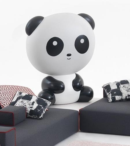 Panda Lux by Cappellini, a lamp full of tenderness
