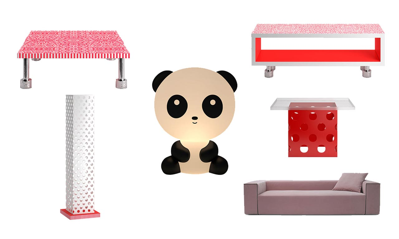 Panda Landscape collection by Cappellini