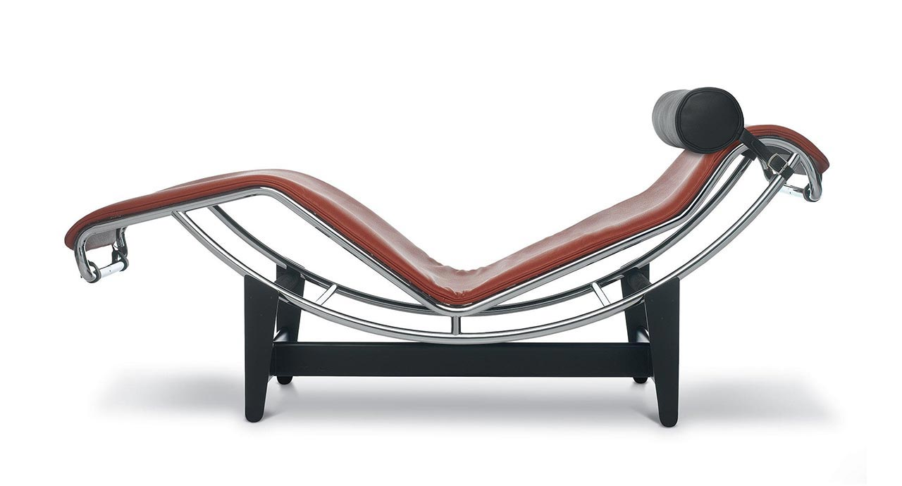Chaise longue lc4 di cassina for Chaise longue lc4 occasion