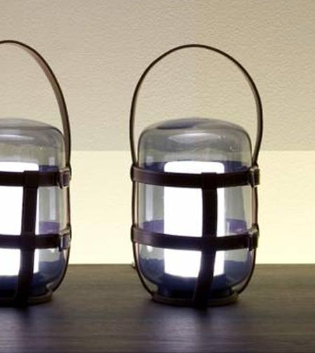 portable lamp firefly by de padova