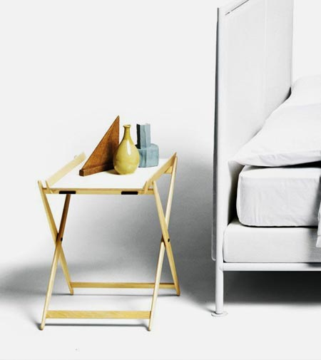 Mate by De Padova, the timeless bedside table