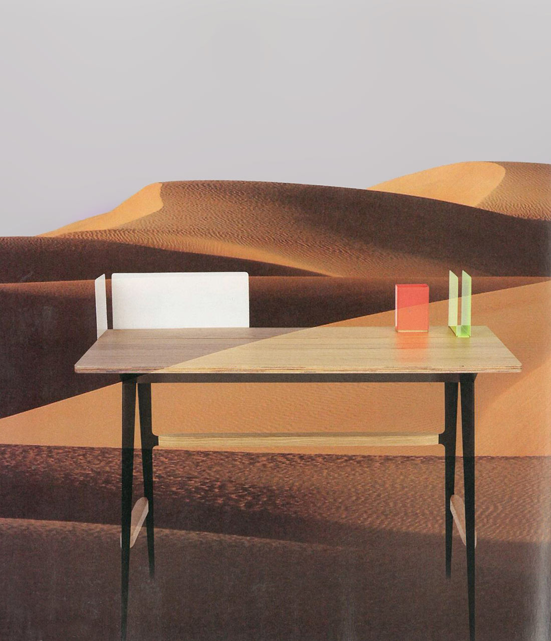 Writing Desk Portable Atelier By Driade And Moleskine Images