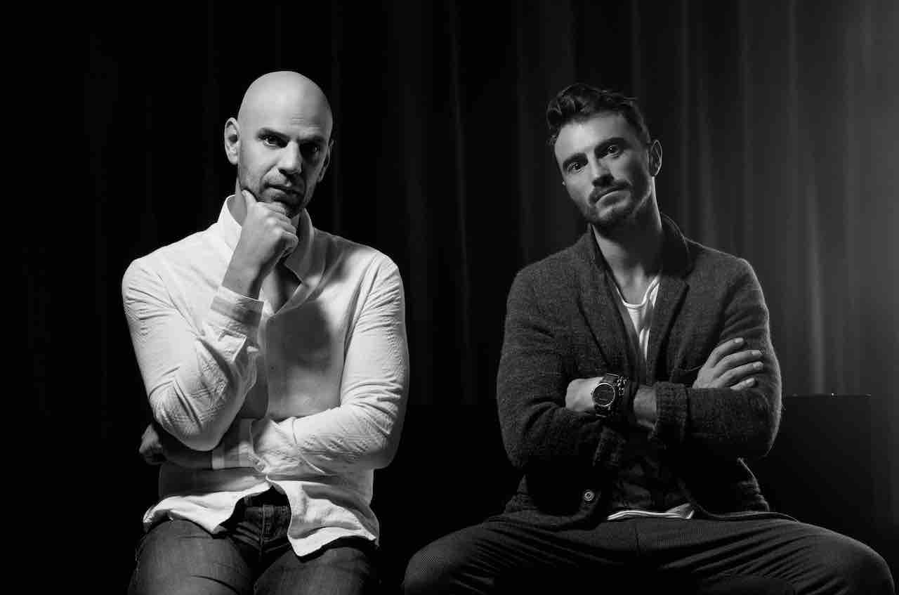 Lorenzo Ponzelli and Francesco Valentini, the designers behind the Eclisse 40 collection