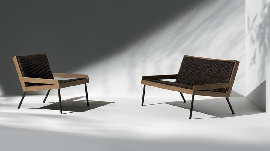 Allaperto by Ethimo, the new outdoor series for mountain living