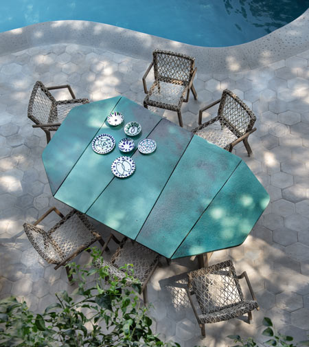 Rafael by Ethimo, outdoor dining in style
