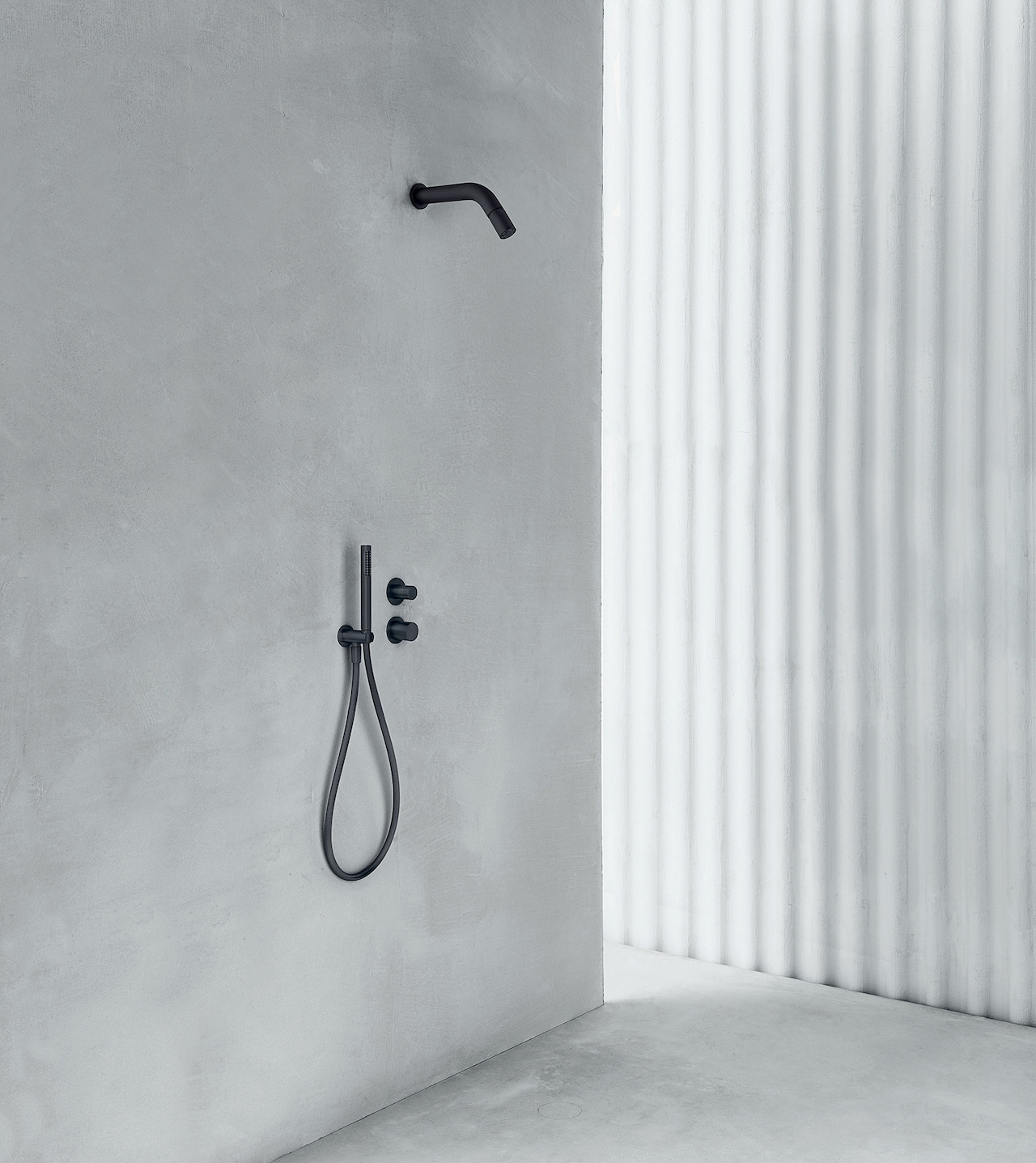 Showerhead AA/27 Aboutwater, design Michael Anastassiades 2020, Boffi and Fantini