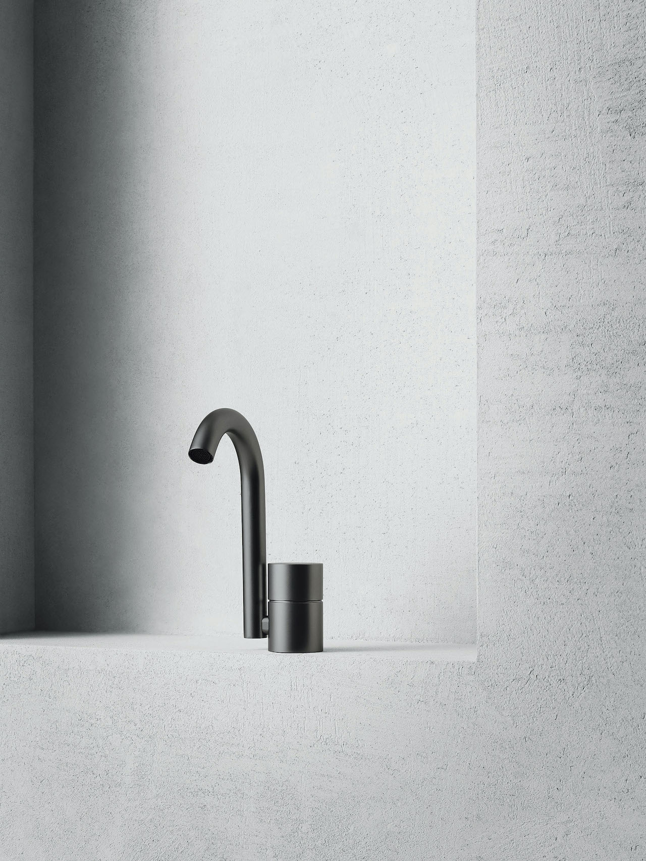 Mixer AA/27 Aboutwater, design Michael Anastassiades 2019, Boffi and Fantini