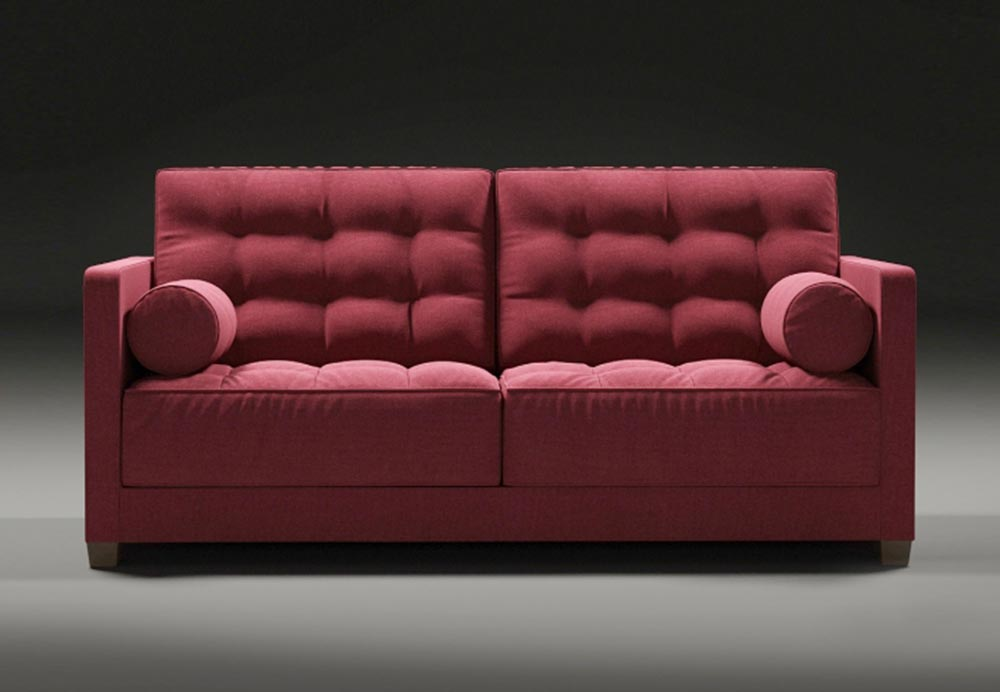 Tufted sofa le canap by flexform for Le canape flexform