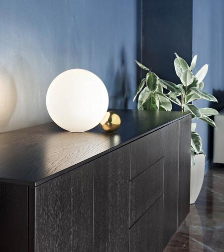 Copycat by flos table lamp copycat by flos the spherical lamp mozeypictures Choice Image