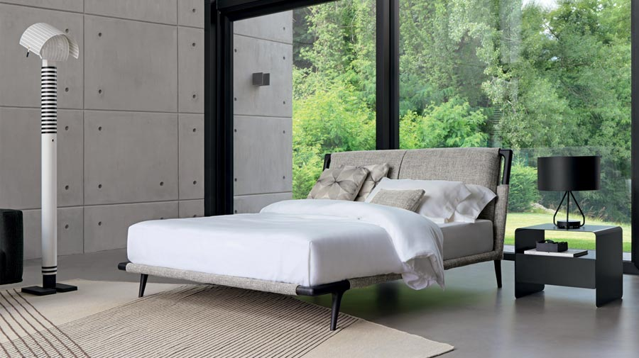 Gaudí by Flou, the natural beauty of the bed