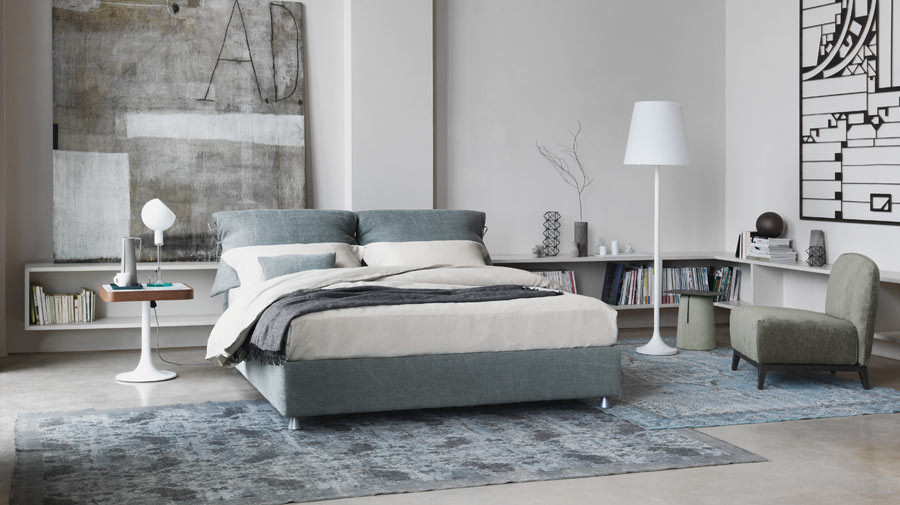 Nathalie by Flou, a timeless bed