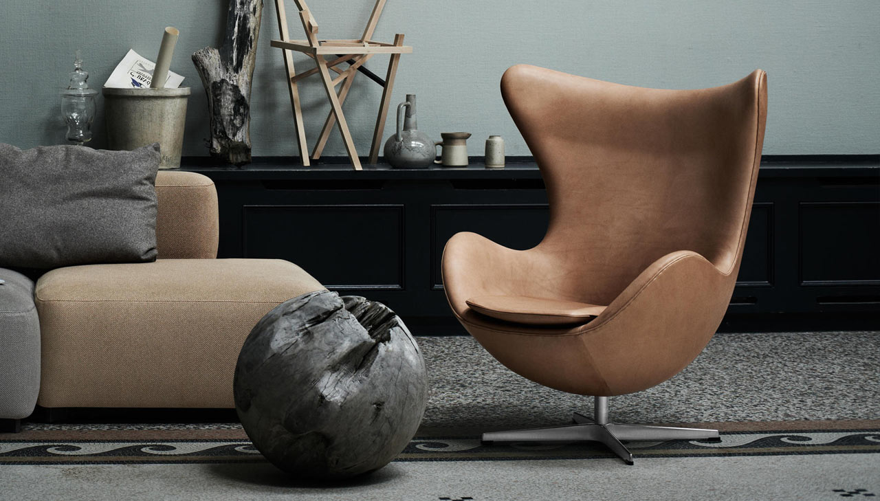 Poltrona Egg Jacobsen.Egg Chair