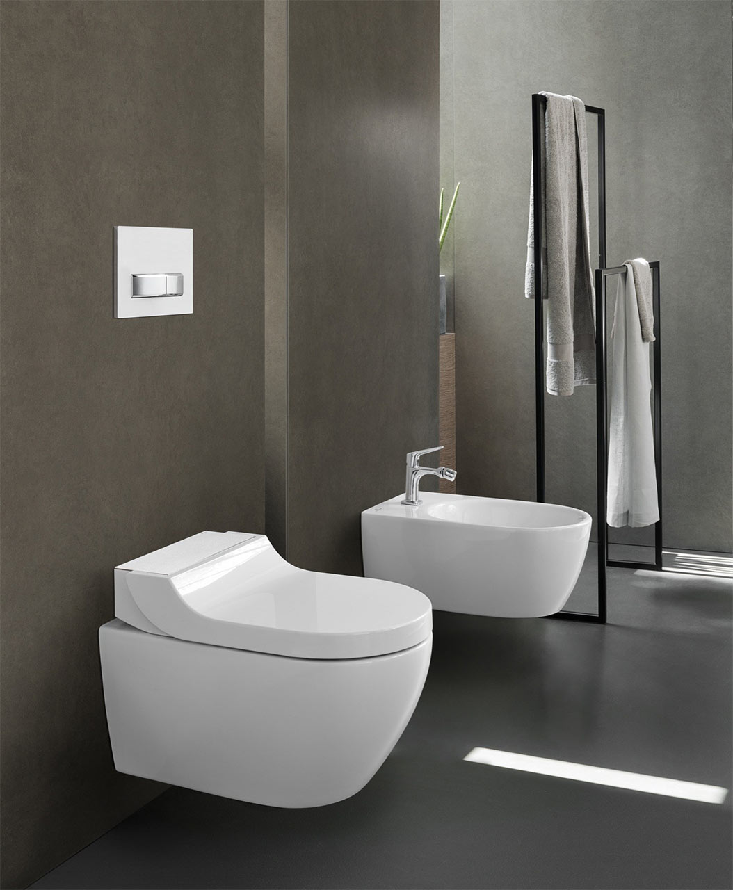 wc aquaclean tuma by geberit. Black Bedroom Furniture Sets. Home Design Ideas