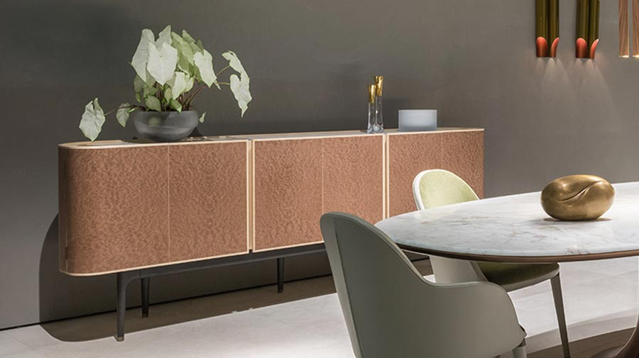 Moore by Giorgetti, the lux bar cabinet