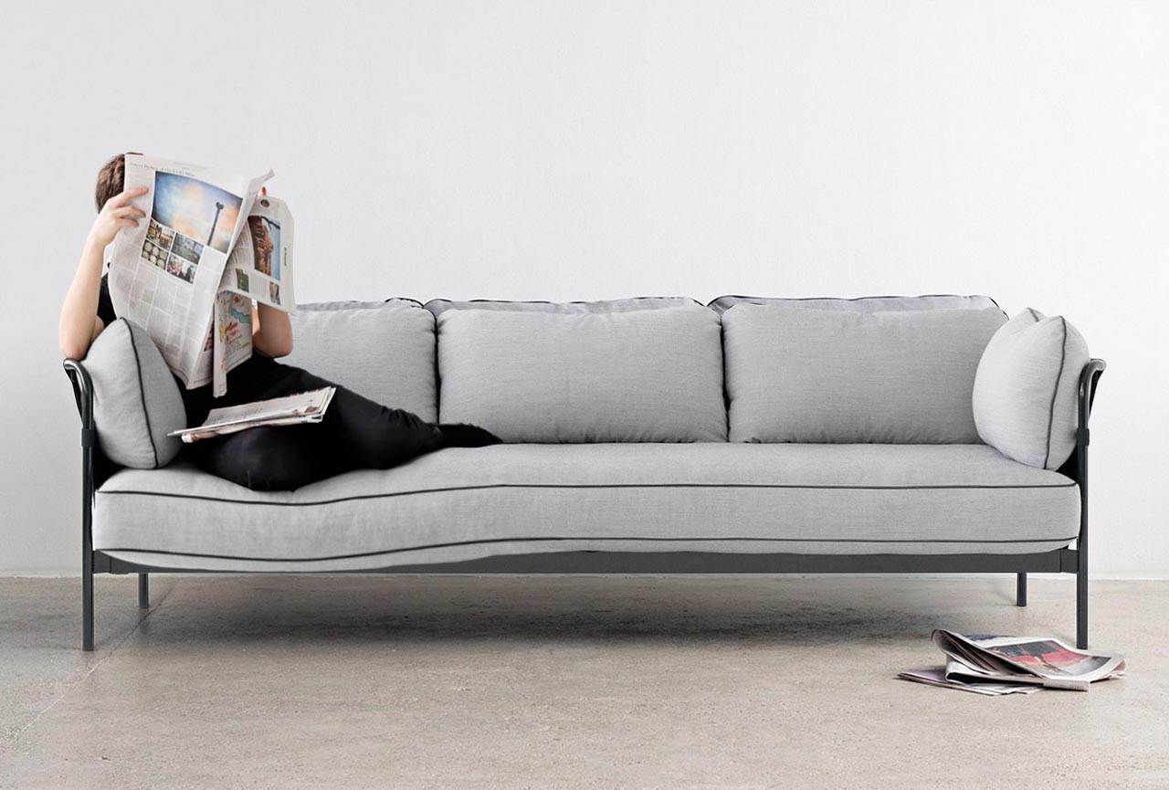 hay sofa free can sofa is a a sofa designed by french design duo ronan and erwan the can sofa. Black Bedroom Furniture Sets. Home Design Ideas