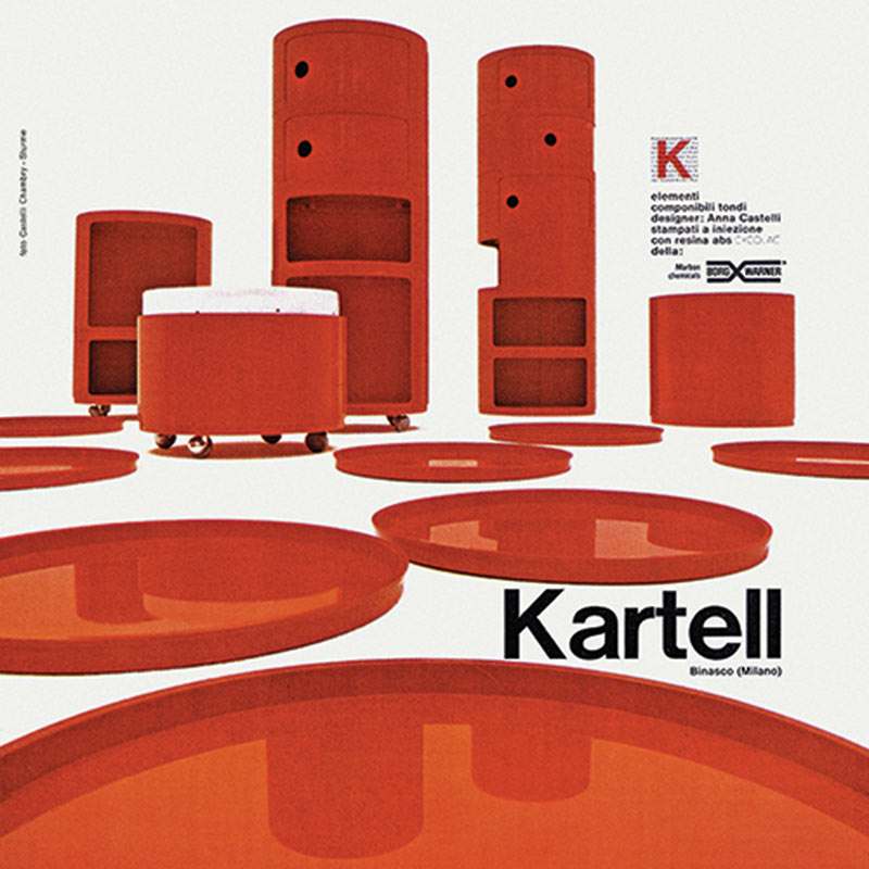 Kartell componibili 50 years old for Kartell ufficio