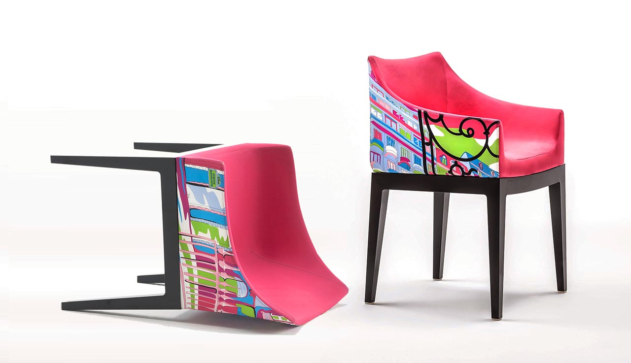 Kartell, poltroncina Madame – World of Emilio Pucci edition - Paris
