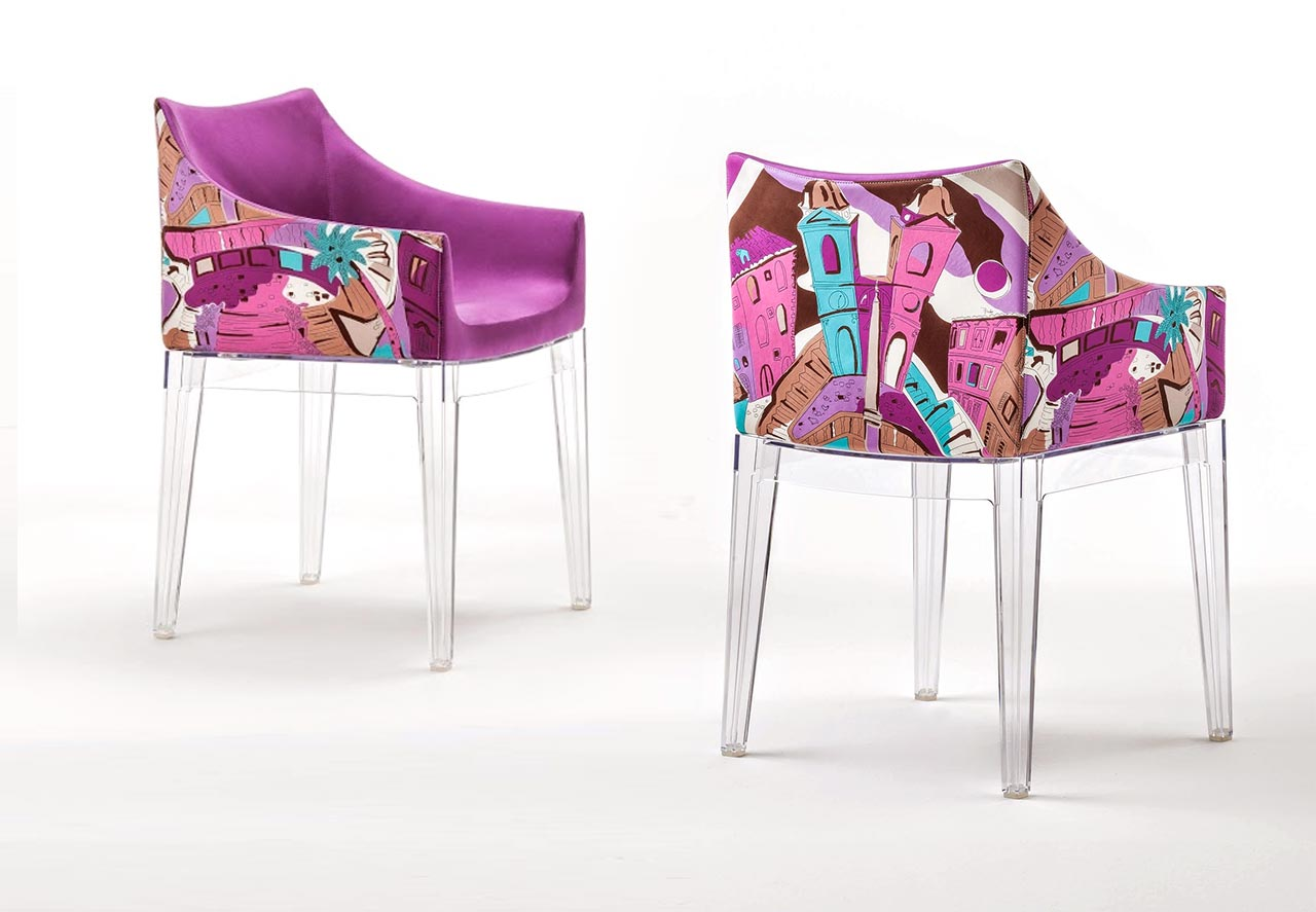 Kartell, poltroncina Madame – World of Emilio Pucci edition - Rome