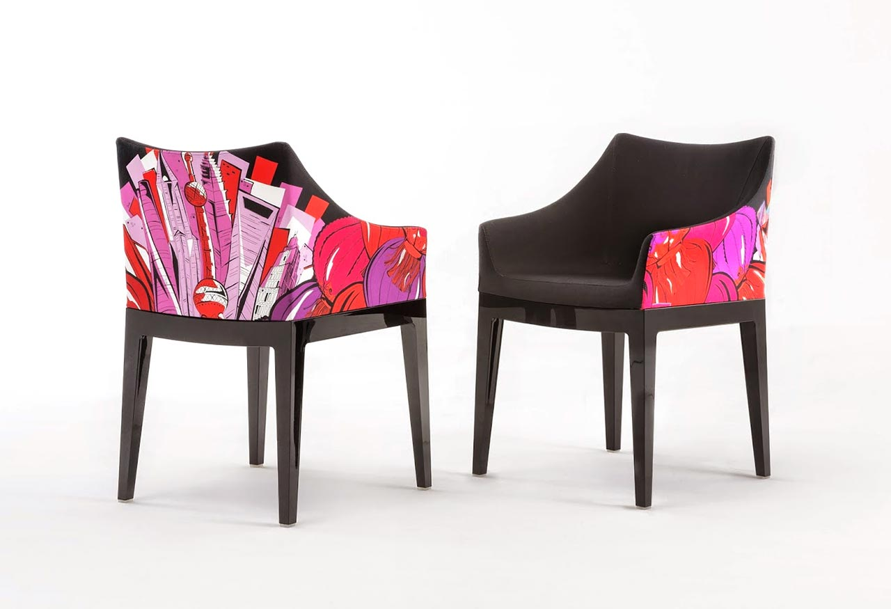 Kartell, poltroncina Madame – World of Emilio Pucci edition - Shanghai