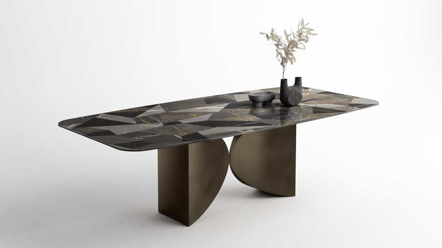 Meet Table Supersalone Limited Edition by LAGO, the aesthetics of balance in a table