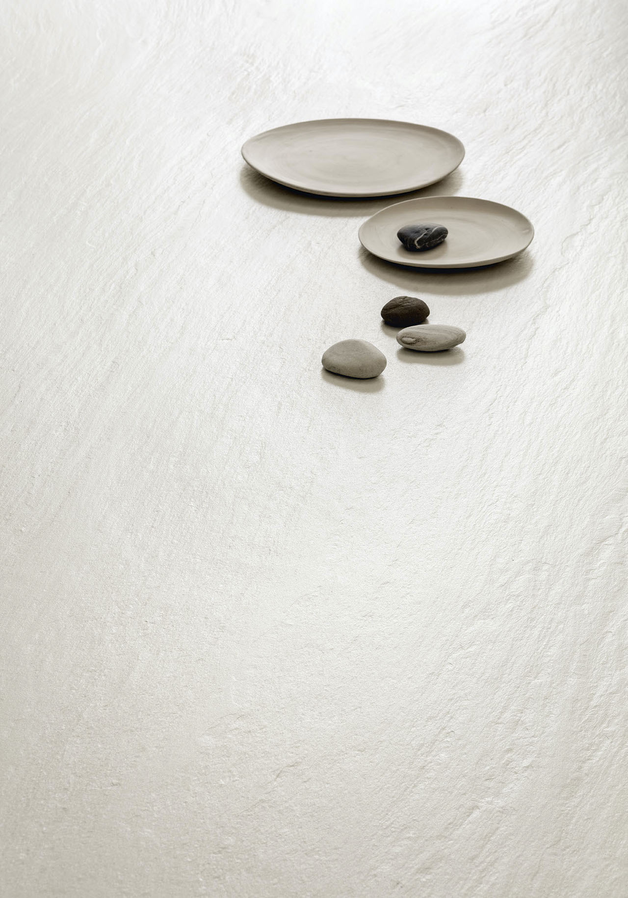 Surface Ardesia a Spacco finish Bianco, The I Naturali 2020 Collection, Laminam