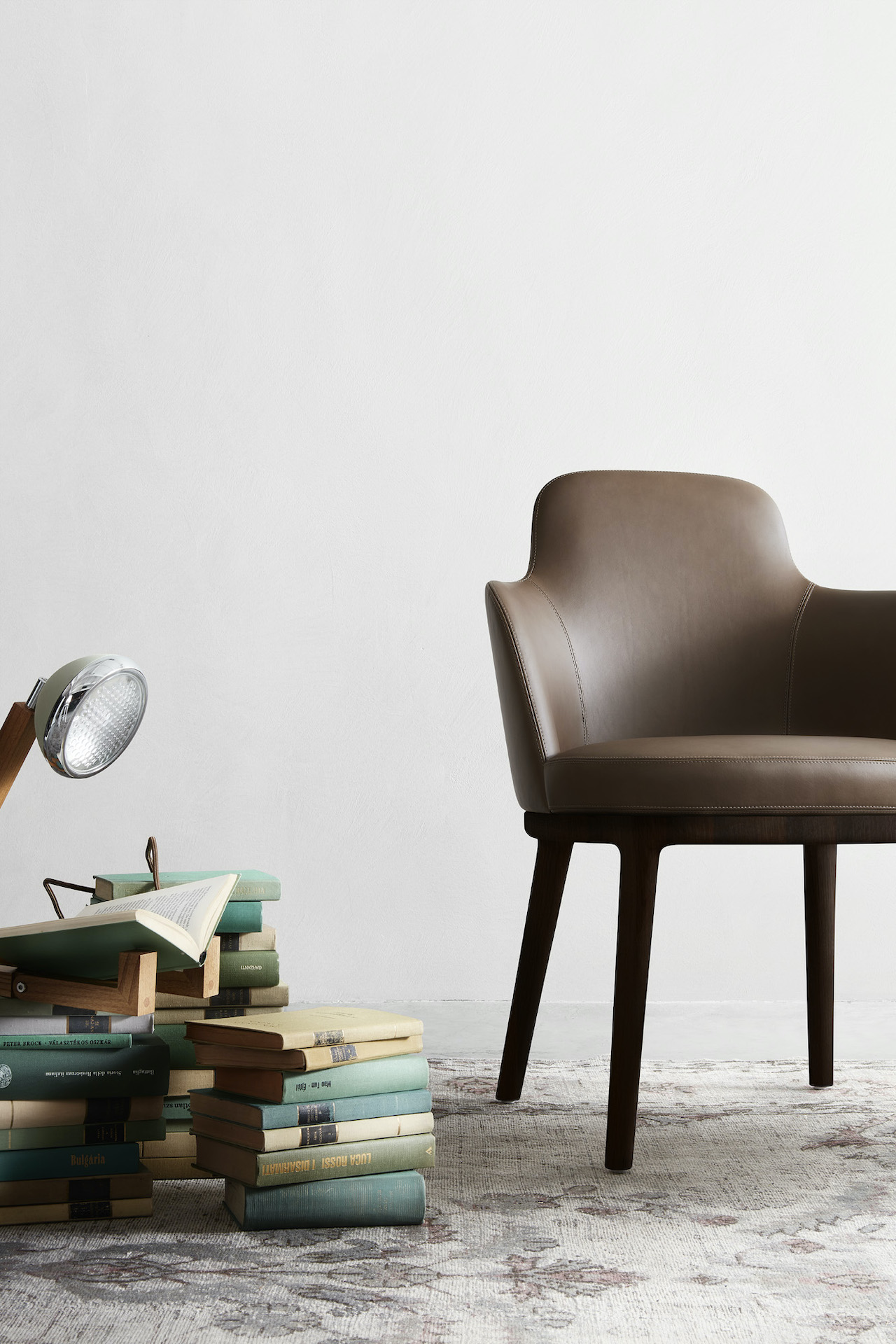 Collection of seating Lucylle, design Roberto Lazzeroni 2020, Lema