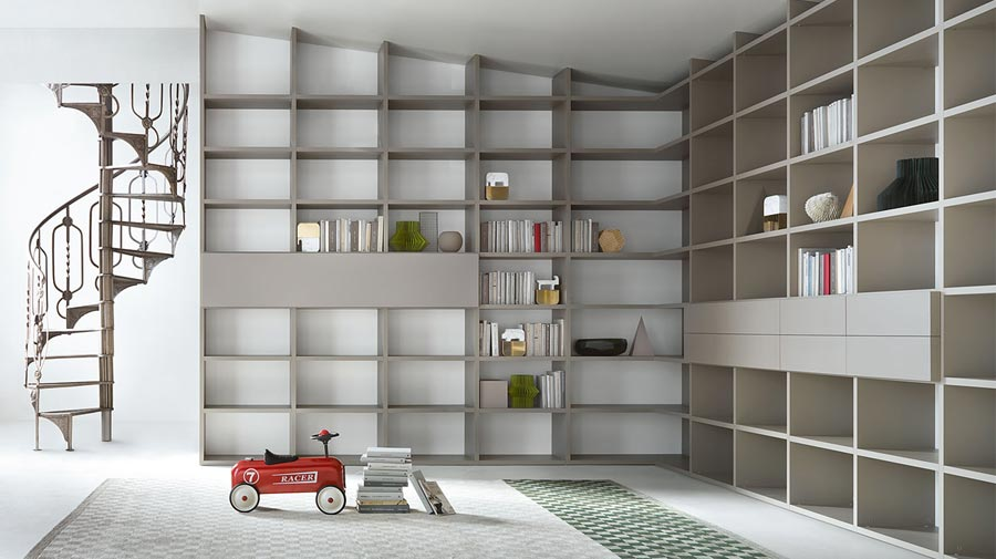 Selecta by Lema: the tailored modular bookcase celebrates its twentieth birthday