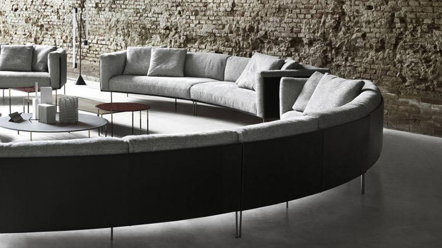Rod Bean by Living Divani, the all-embracing sofa