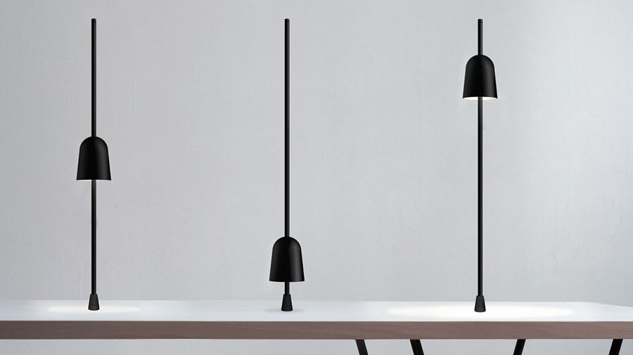 Ascent by Luceplan, the Compasso d'Oro lamp