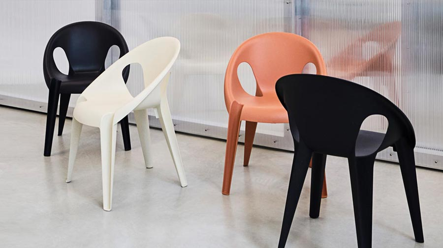 Bell Chair by Magis, the elegance of recycling