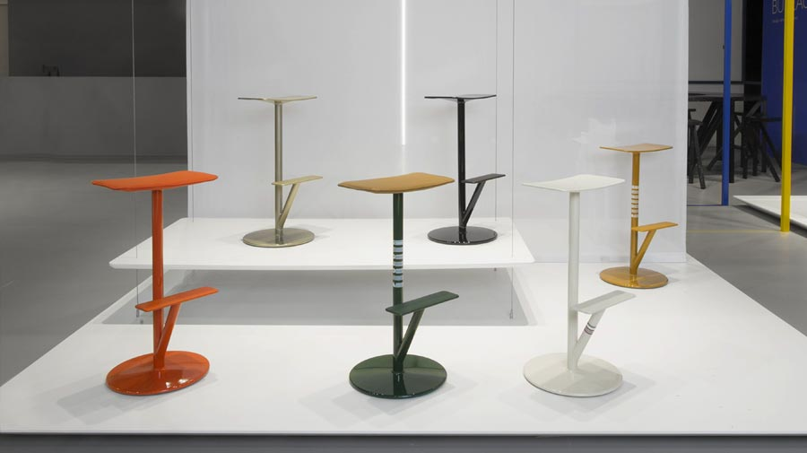 Sequoia by Magis, the stool inspired by a tree