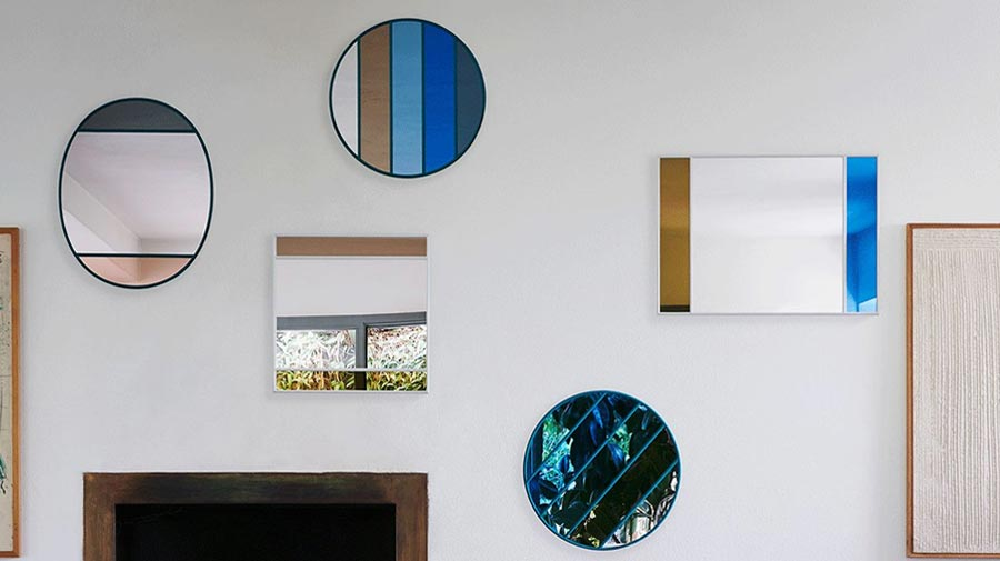 Vitrail by Magis, mirrors that reflect style
