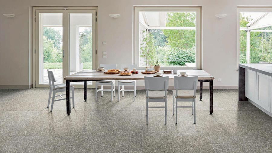 Art Collection by Marazzi, a new Terrazzo tile effect porcelain stoneware