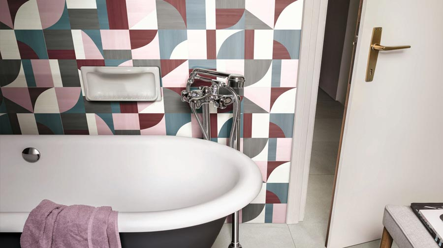 Eclettica by Marazzi, the new fashionable tiles