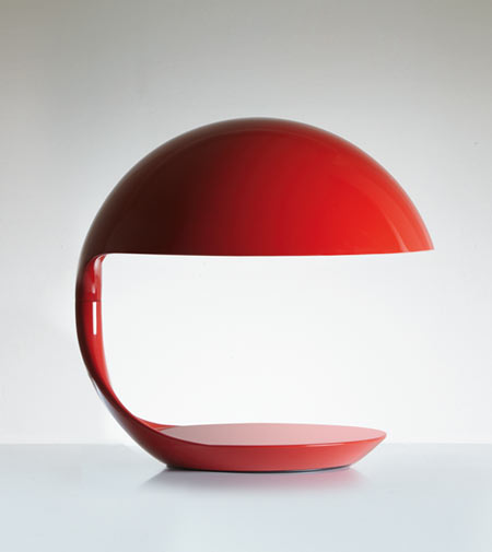 50 candles for Cobra by Martinelli Luce, the iconic futuristic lamp