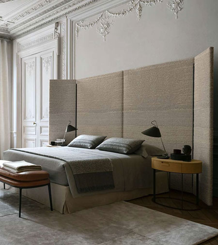 Dike by Maxalto, the bed that embraces us