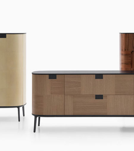 Tesaurus: Maxalto's new, precious storage pieces