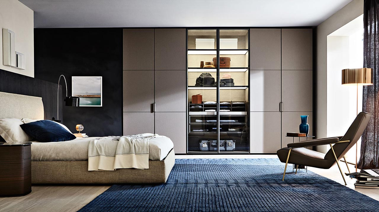 gliss master di molteni c immagini. Black Bedroom Furniture Sets. Home Design Ideas