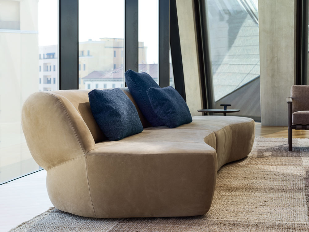 Sofa Surf, design Yabu Pushelberg 2019, Molteni&C