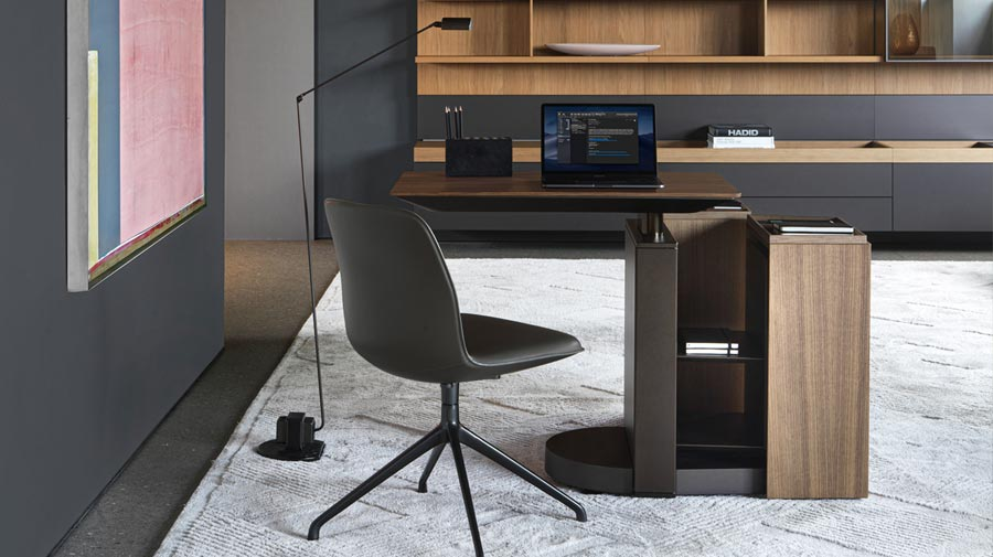 Touch Down Unit by Molteni&C, the essence of a workstation
